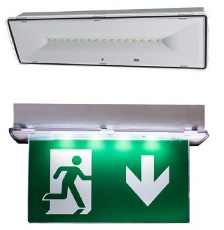 LED nood- en vluchtweg verlichting
